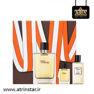 Terre d'Hermes Parfume Gift Set - (WWW.ATRINSTAR.IR)